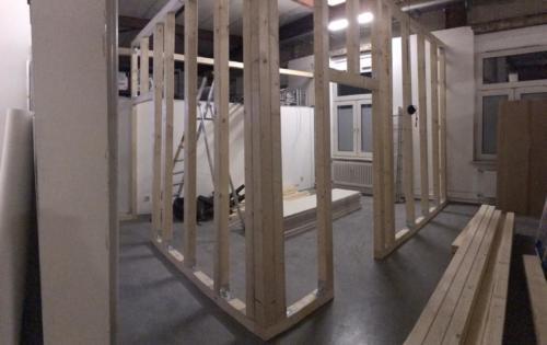 Ein neuer Raum entsteht